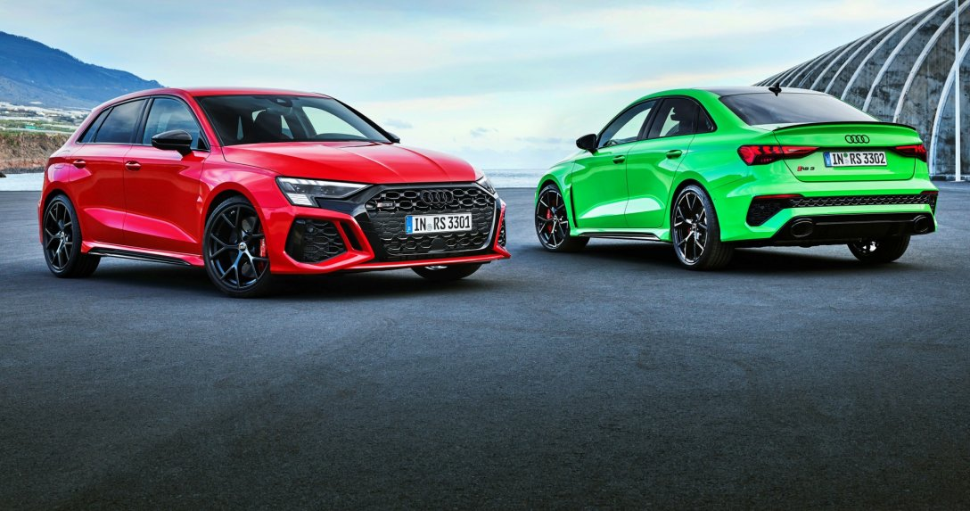 Audi RS 3 hatchback i sedan