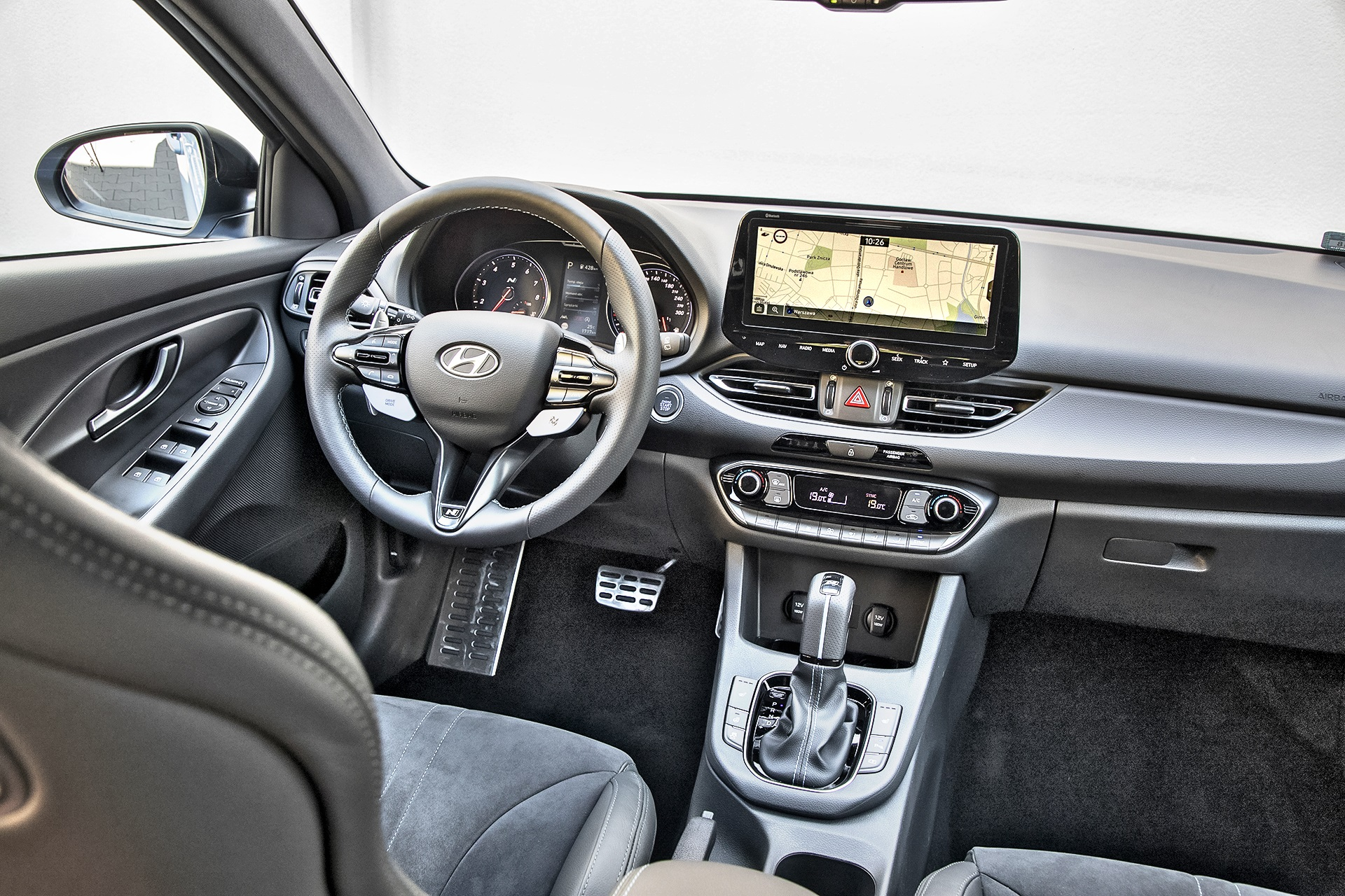 2021 Hyundai i30 N - kokpit