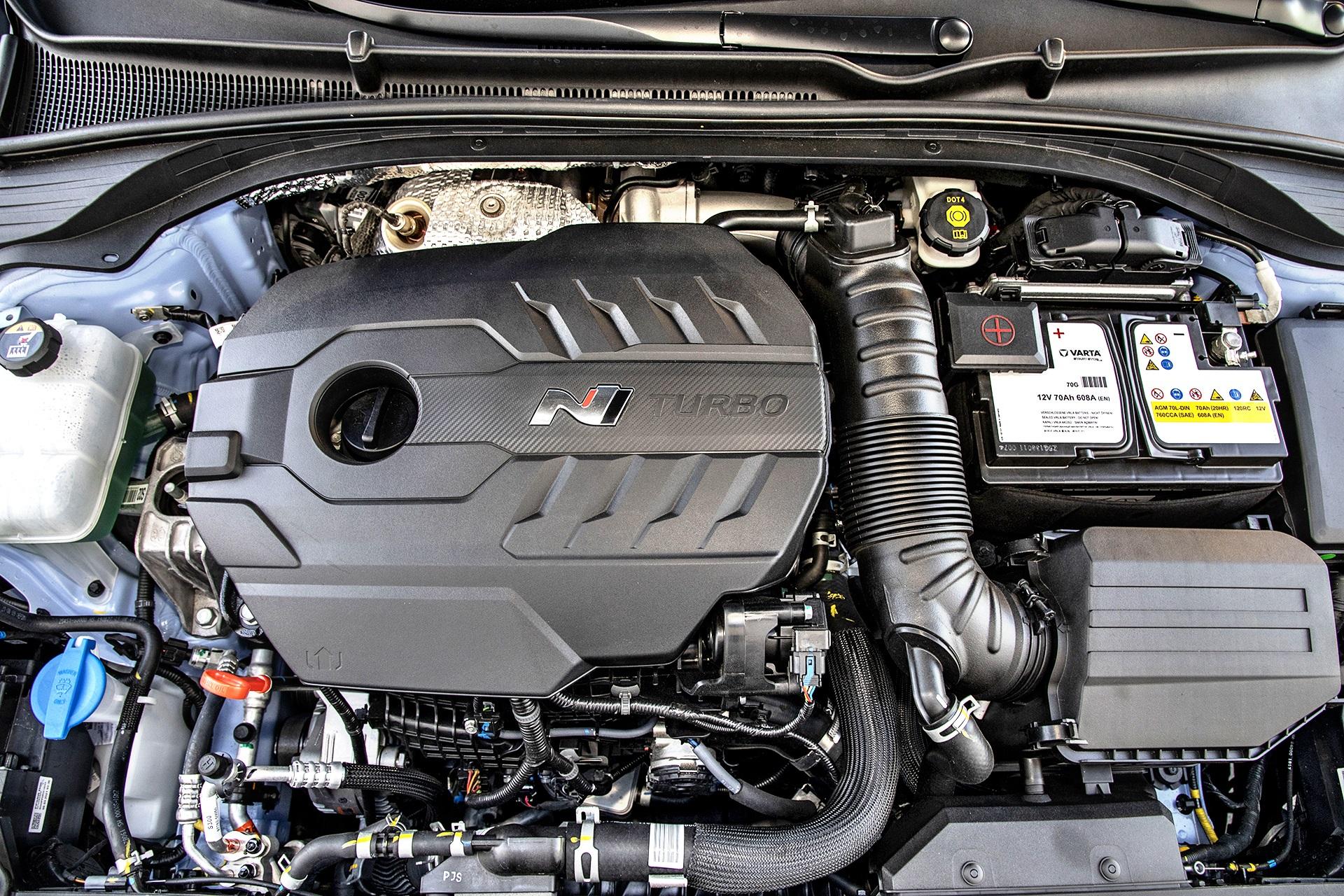 2021 Hyundai i30 N - silnik