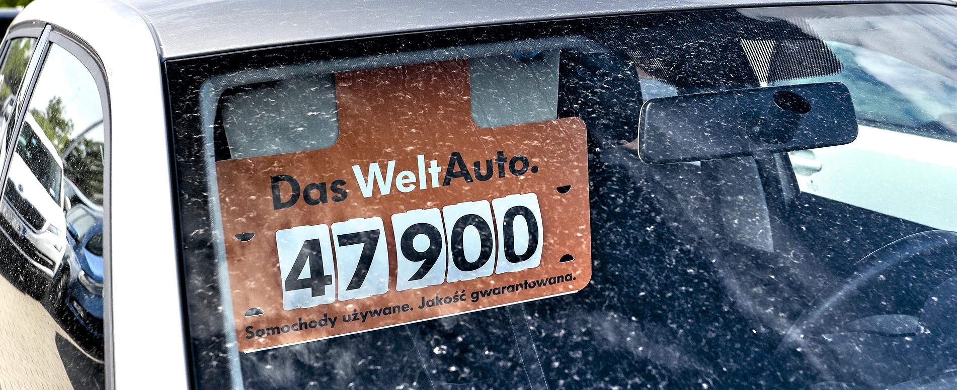 Wywieszka Das Welt Auto autokomis