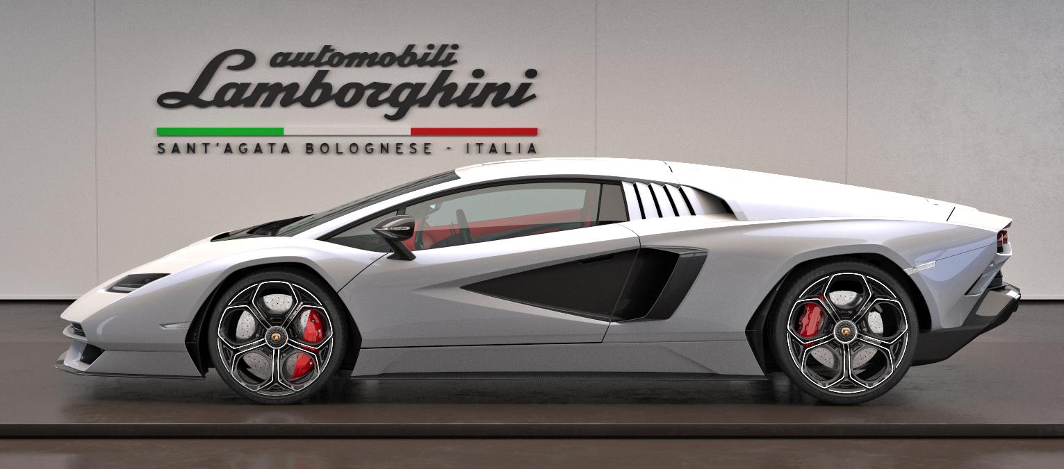 Lamborghini Countach LPI 800-4 bok