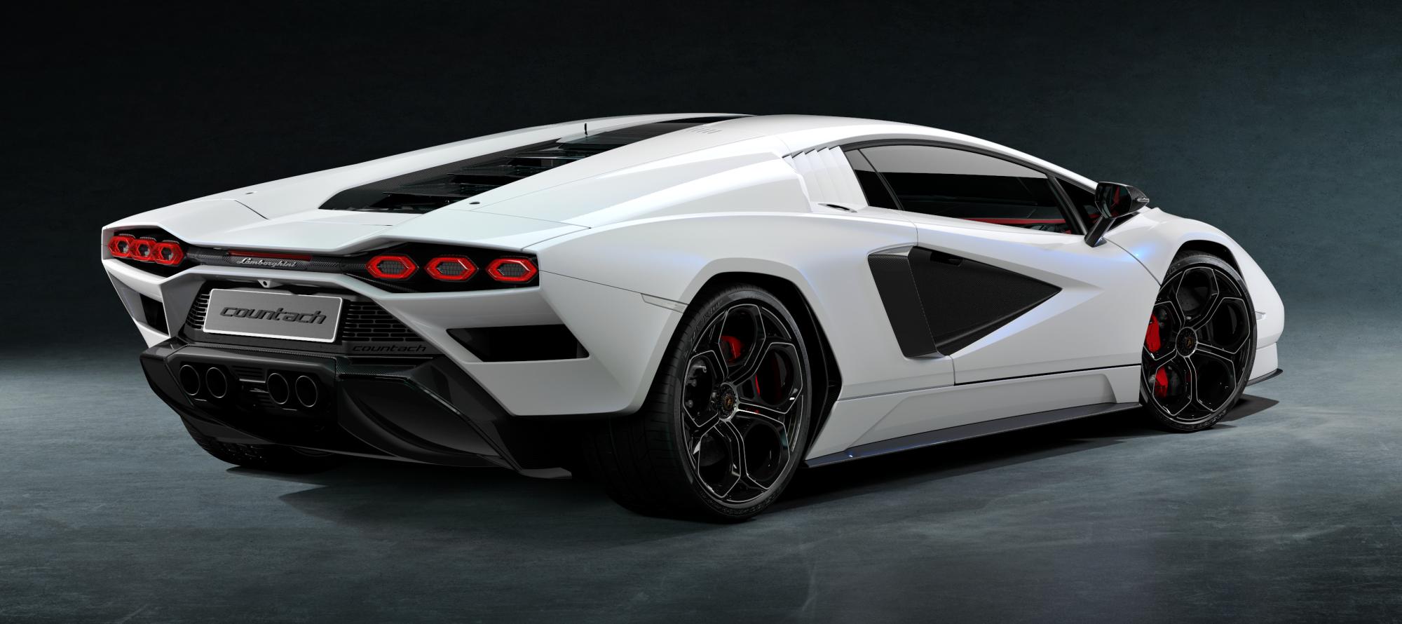 Lamborghini Countach LPI 800-4 tył