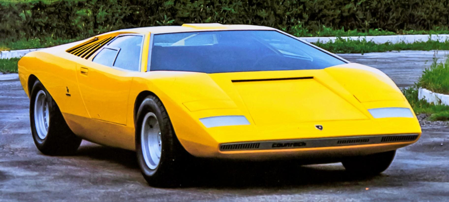 Lamborghini Countach LP 500 przód