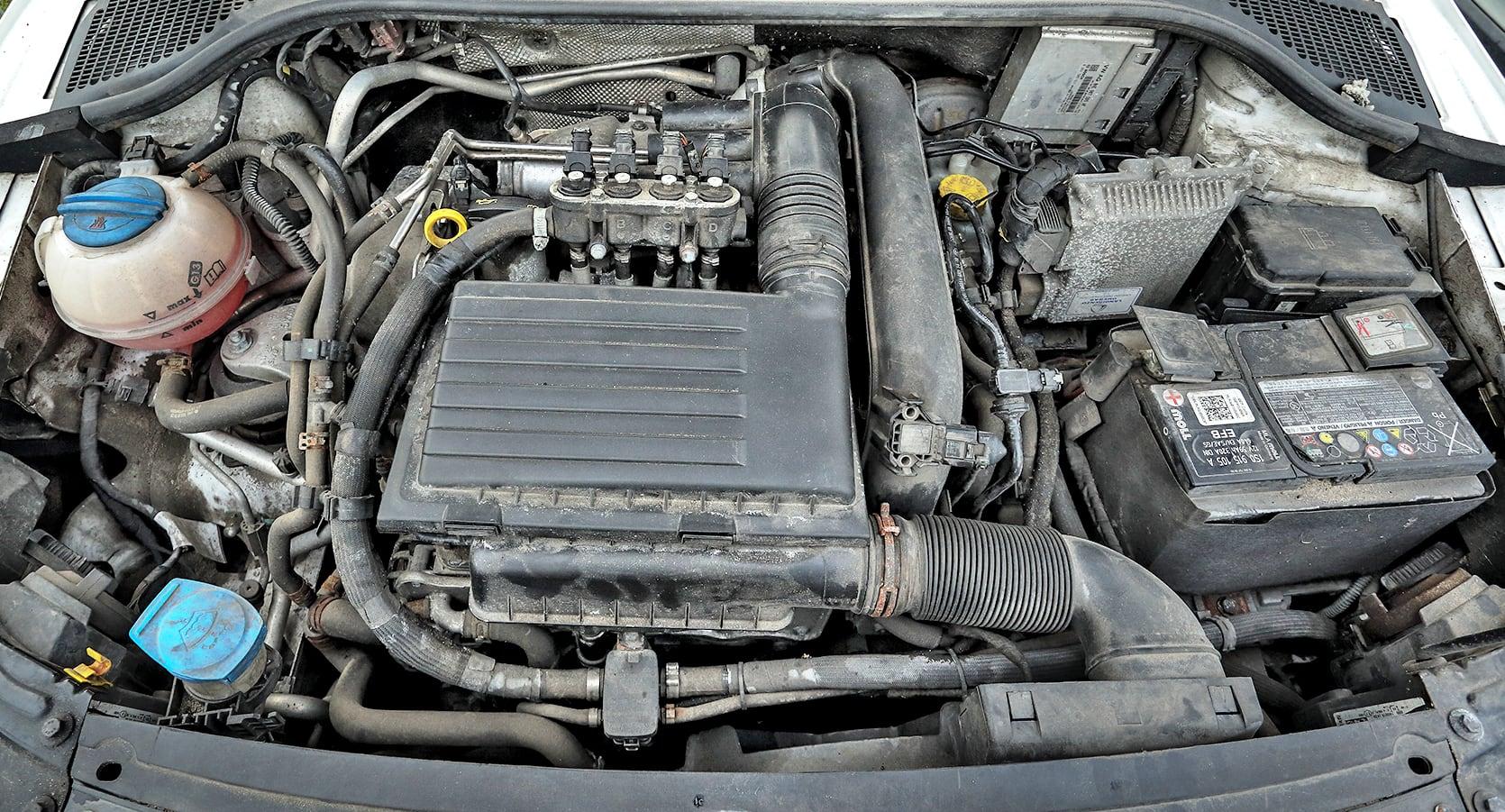 Skoda Rapid 1.2 TSI LPG silnik