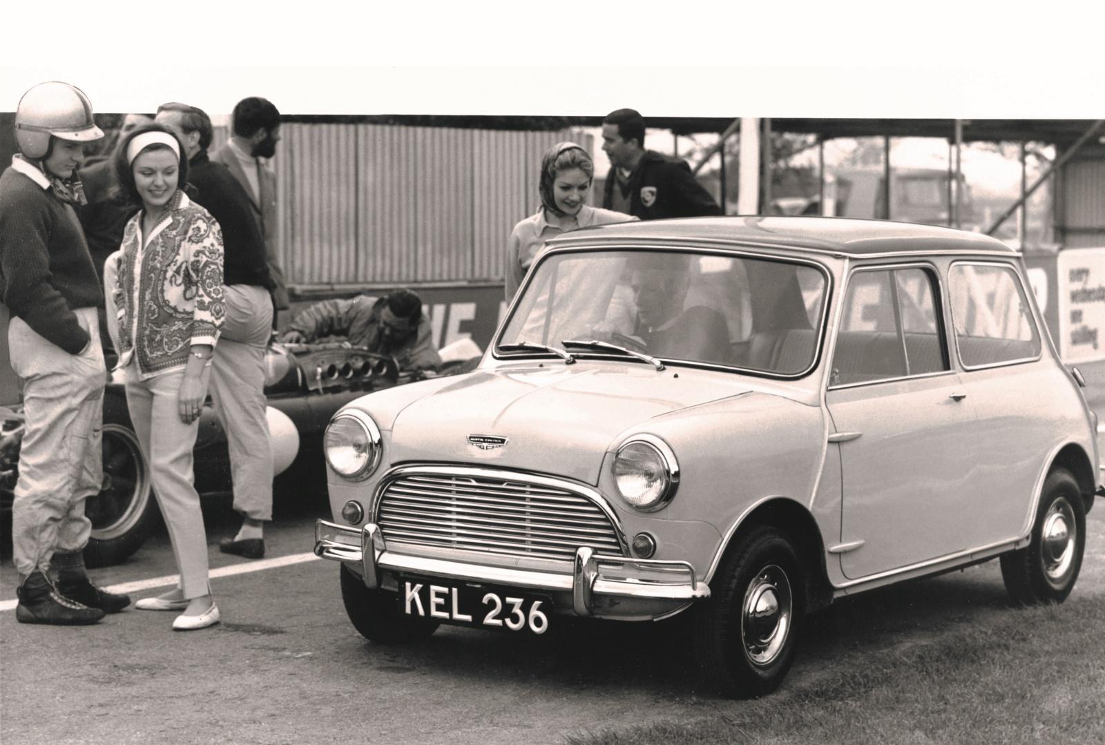Mini Cooper - 1961 r., przód
