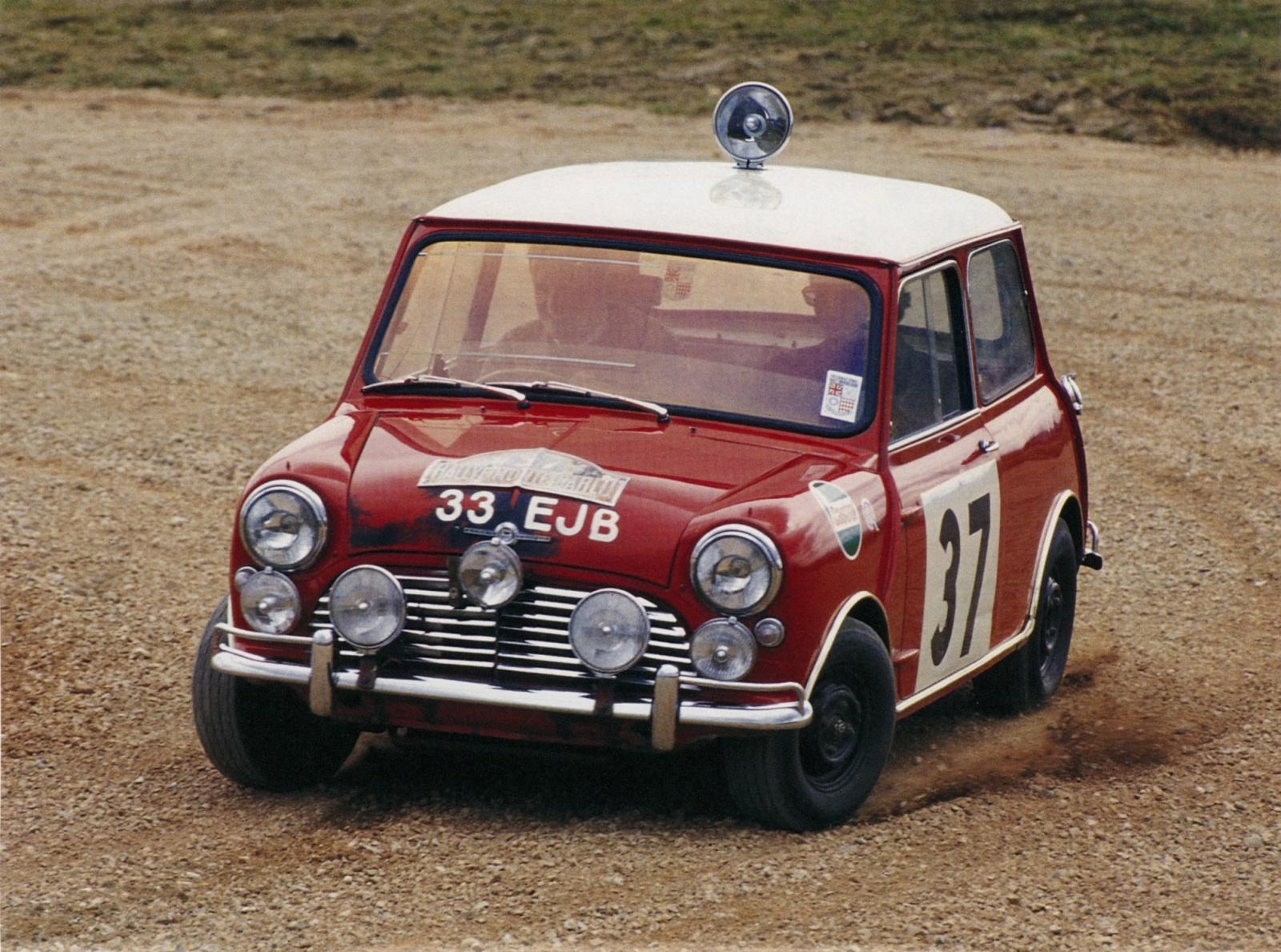 Mini Cooper, rajd Monte Carlo 1964 r.