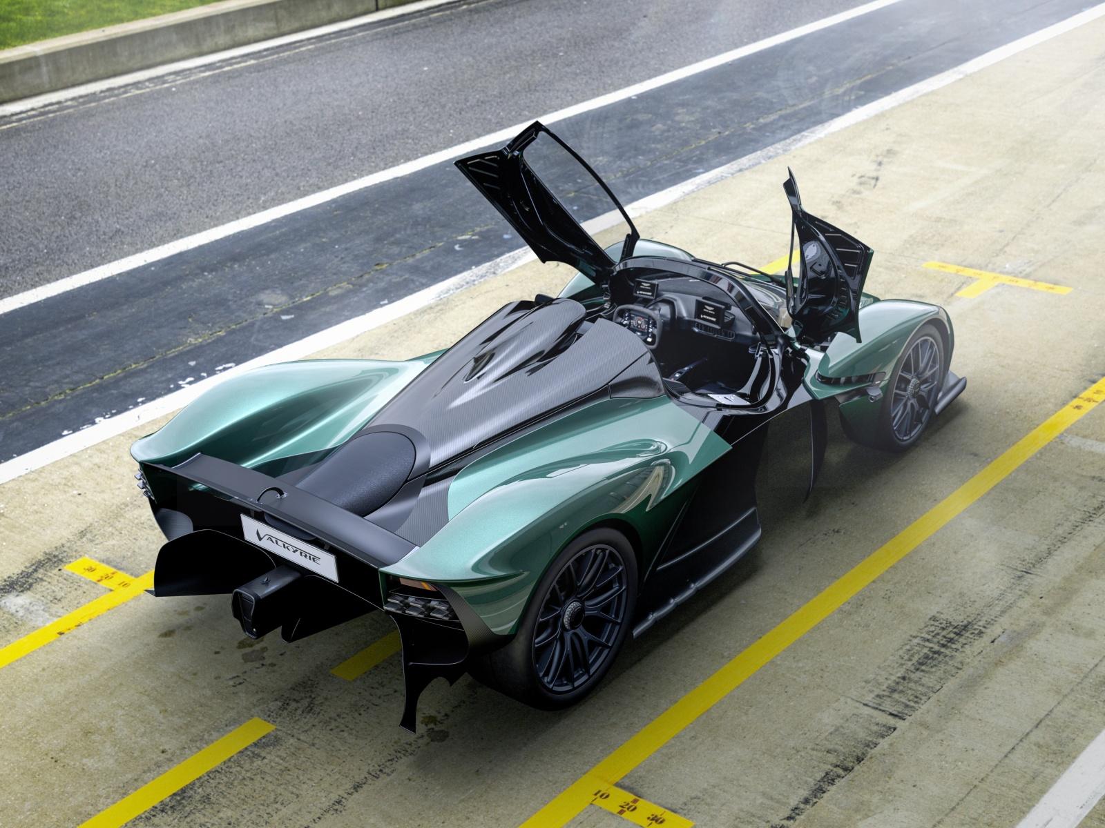 Aston Martin Valkyrie Spider - tył