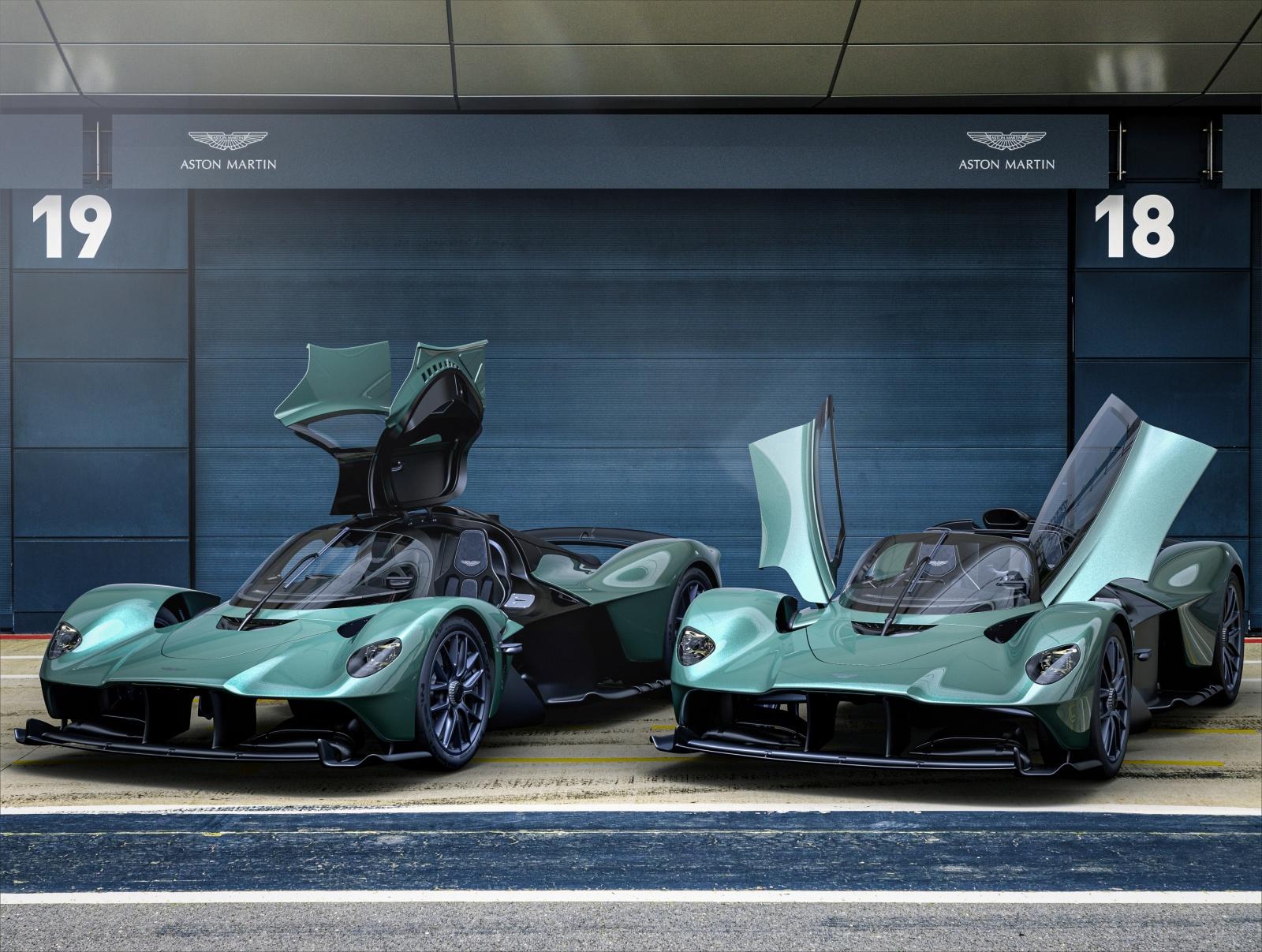 Aston Martin Valkyrie - Spider, Coupe, drzwi