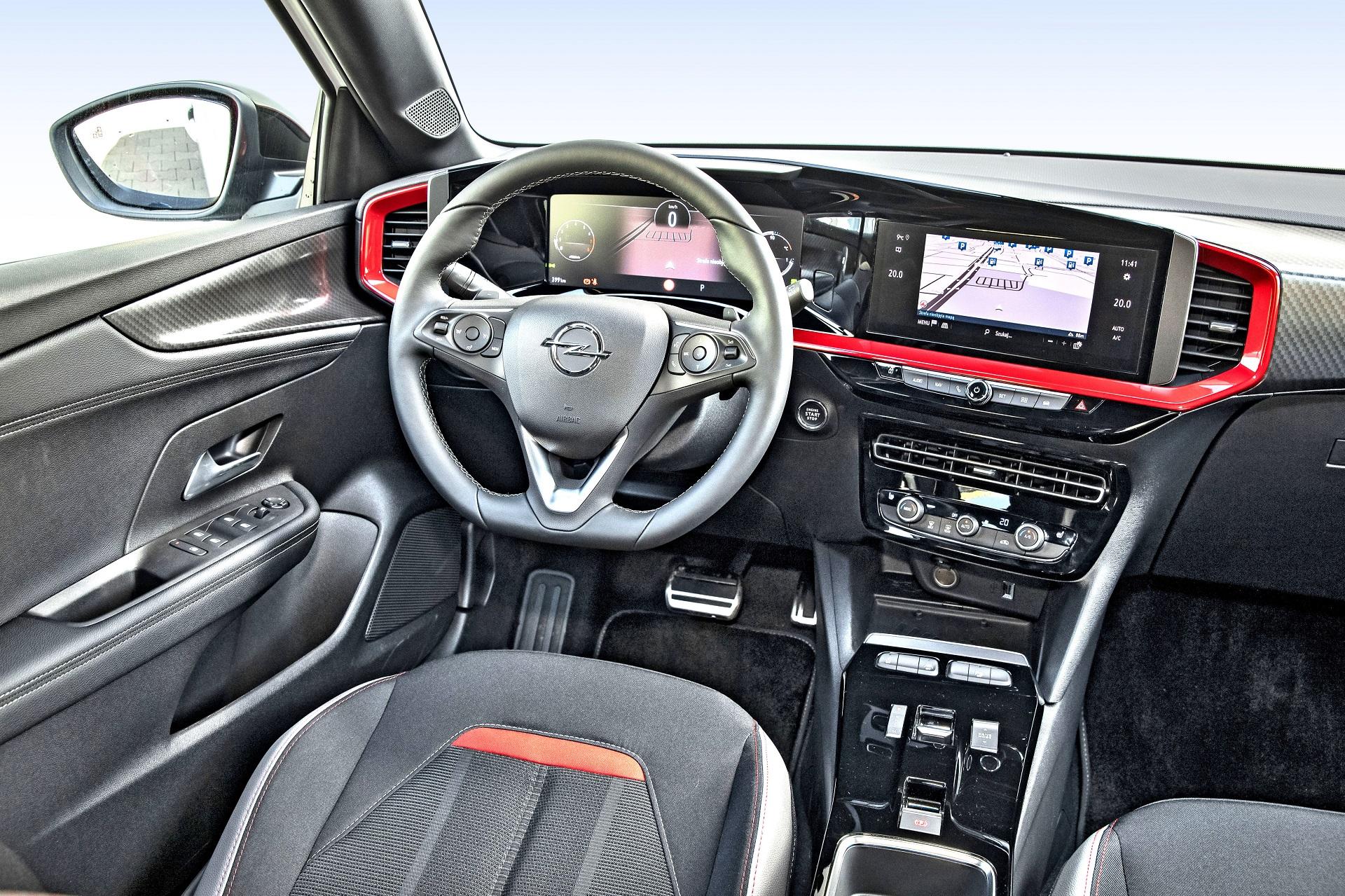 2021 Opel Mokka - deska rozdzielcza