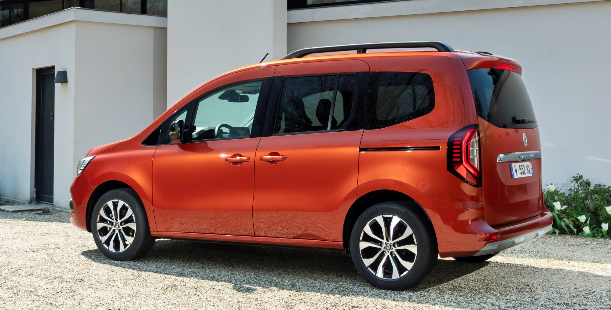 Renault Kangoo tył