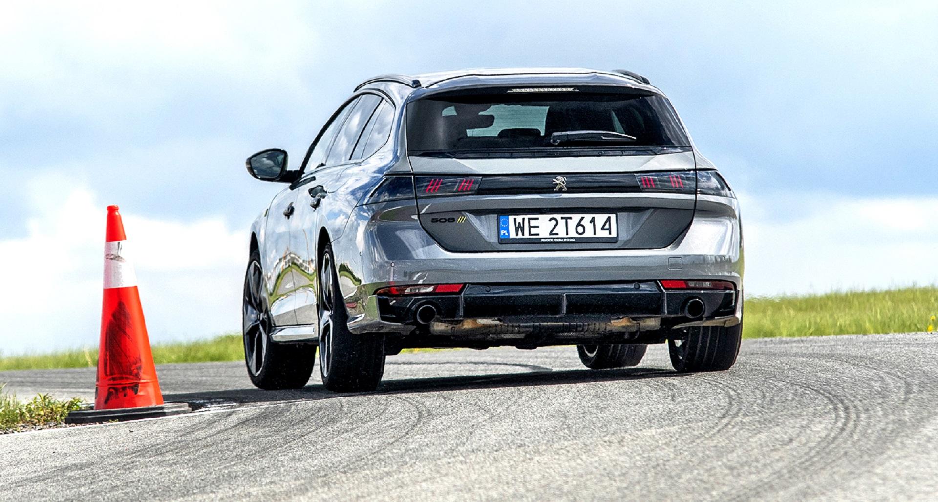 Peugeot 508 PSE SW - tył
