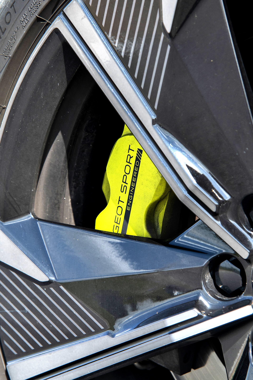 Peugeot 508 PSE SW - hamulce