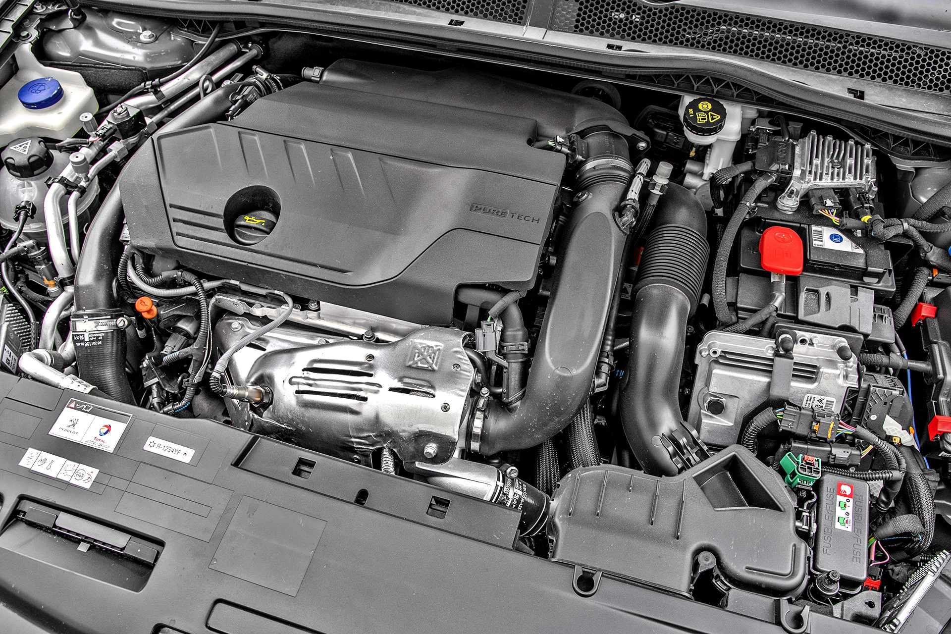 Peugeot 508 PSE SW - silnik