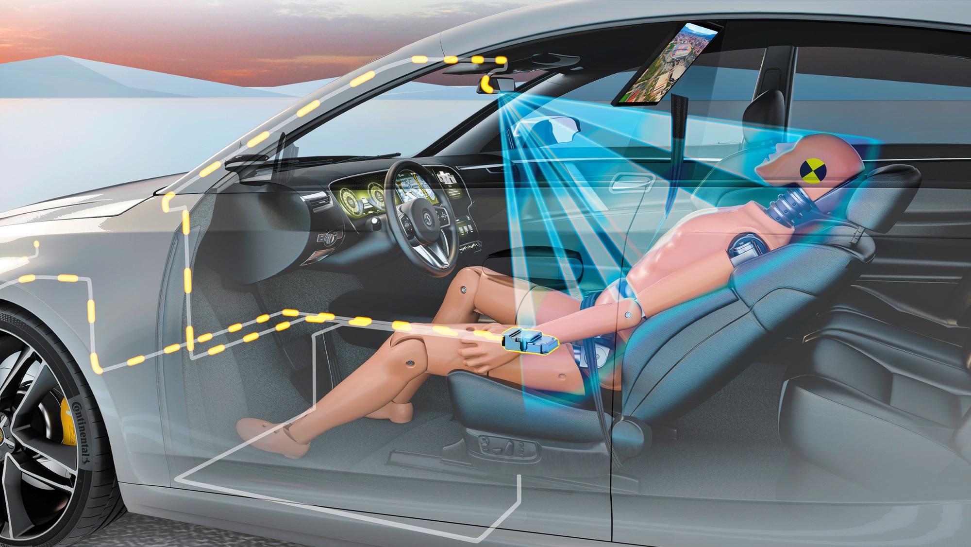 Continental monitorowanie wnętrza pojazdu