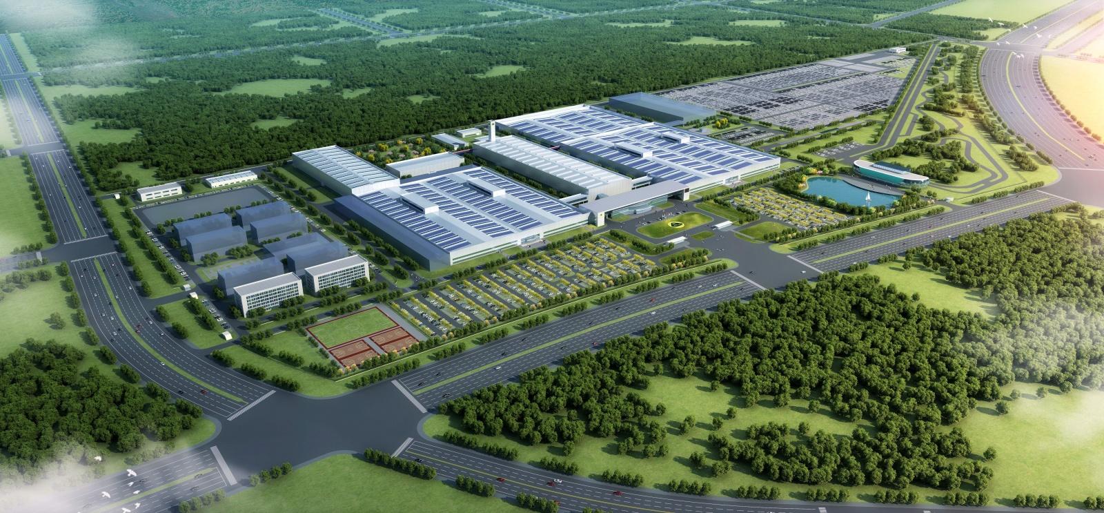 Lotus - fabryka wWuhan, Chiny