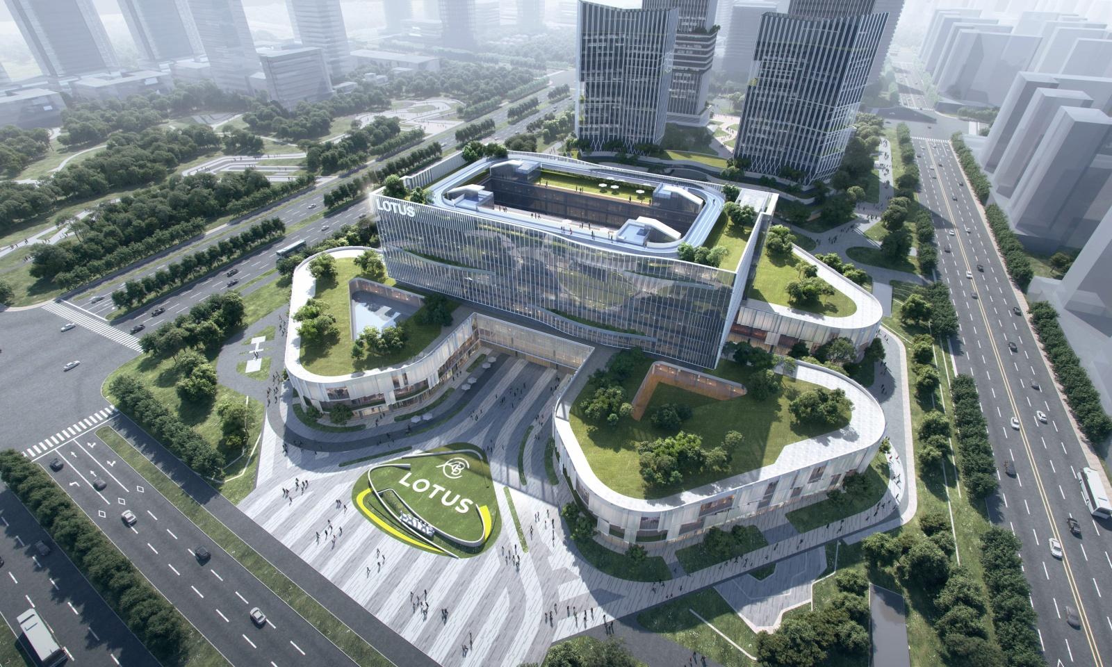 Lotus Technology, siedziba wWuhan