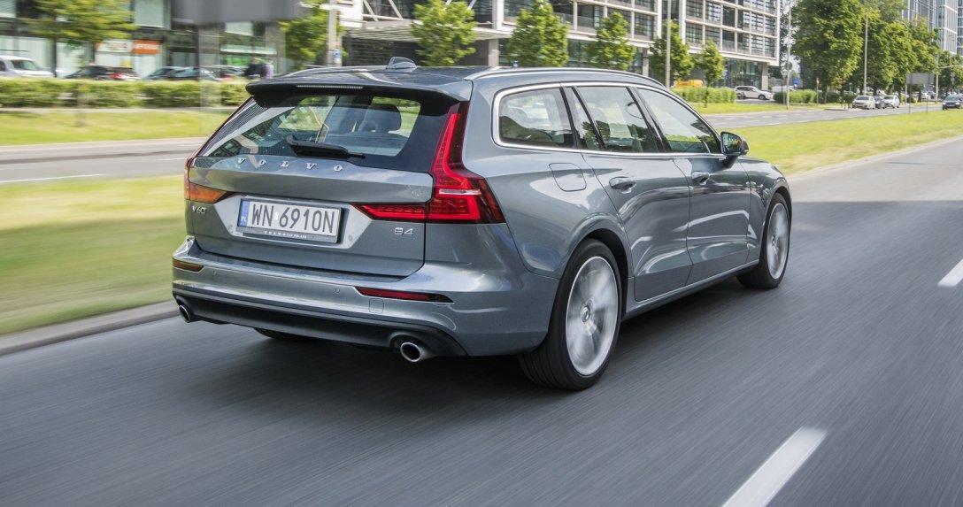 Volvo V60 B4 tył