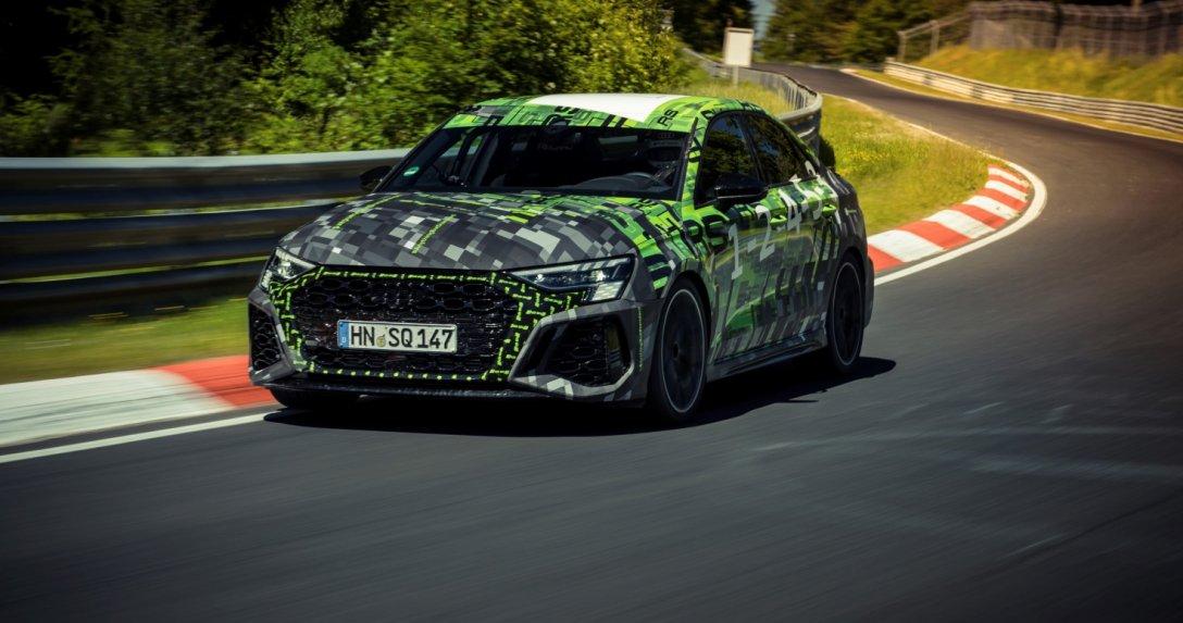 Audi RS 3 Limousine bije rekord na Nurburgringu