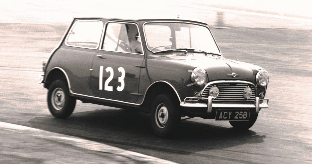 Mini Cooper – jazda, przód