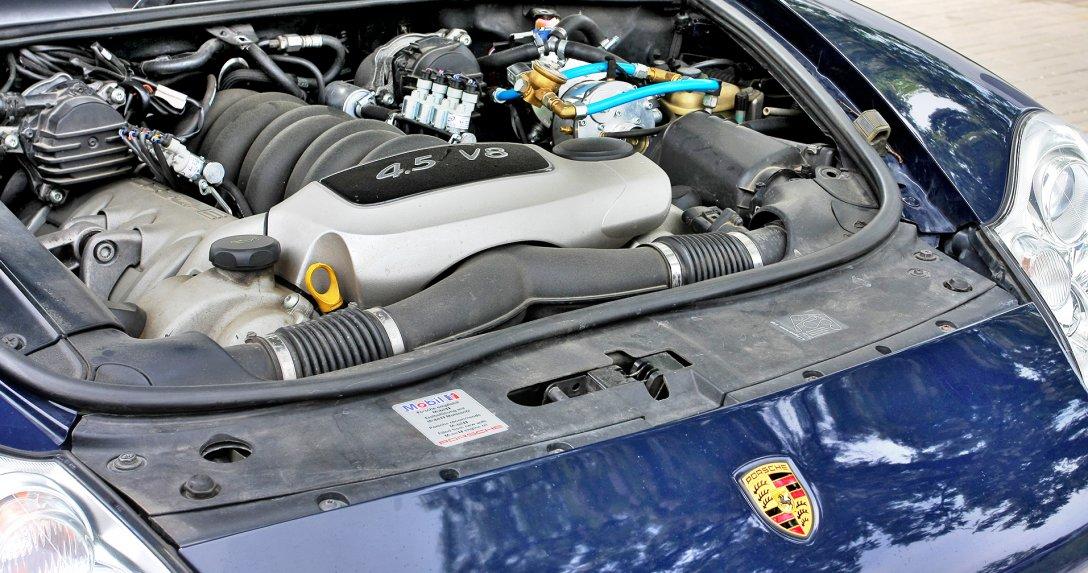 Porsche Cayenne z instalacją gazową