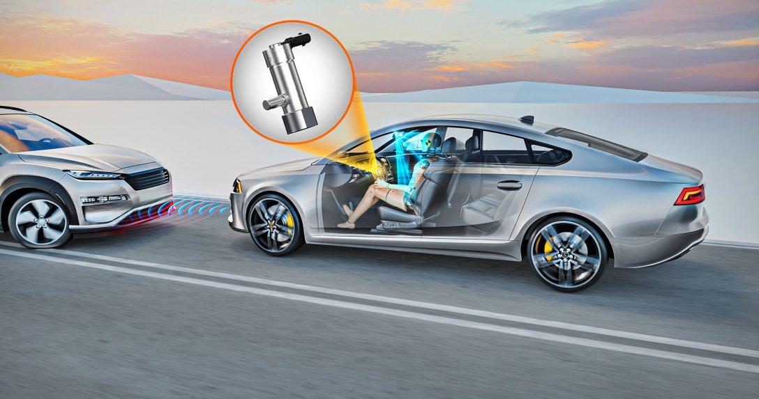 nowy sensor airbagów Continental
