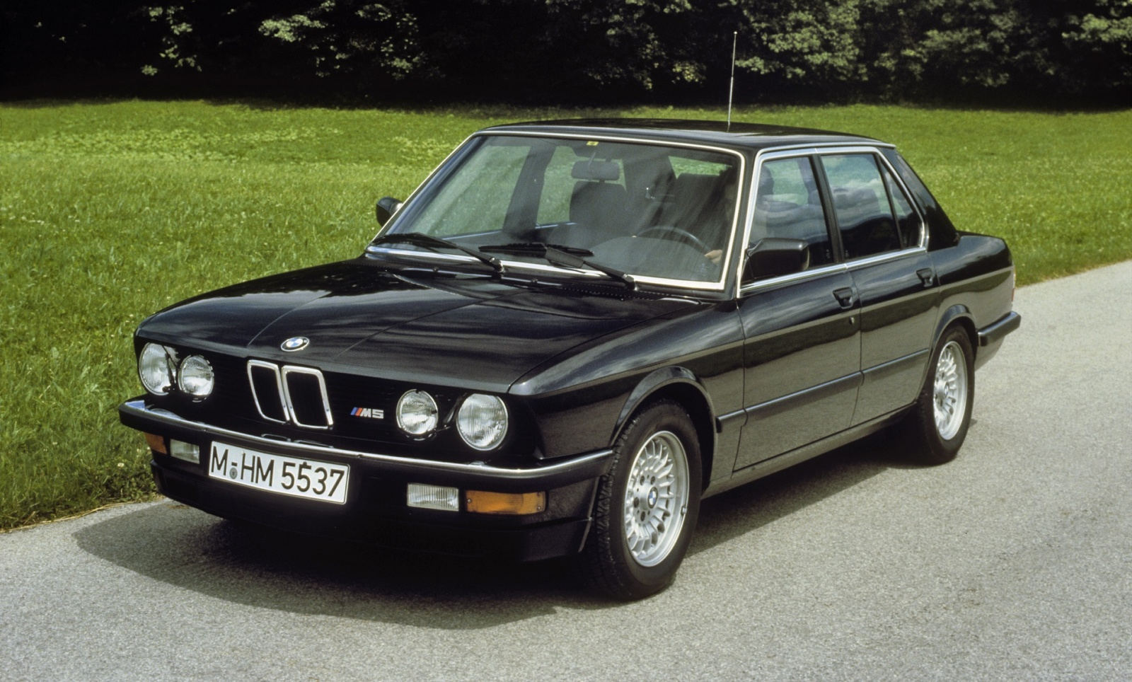 BMW M5 E28 - przód