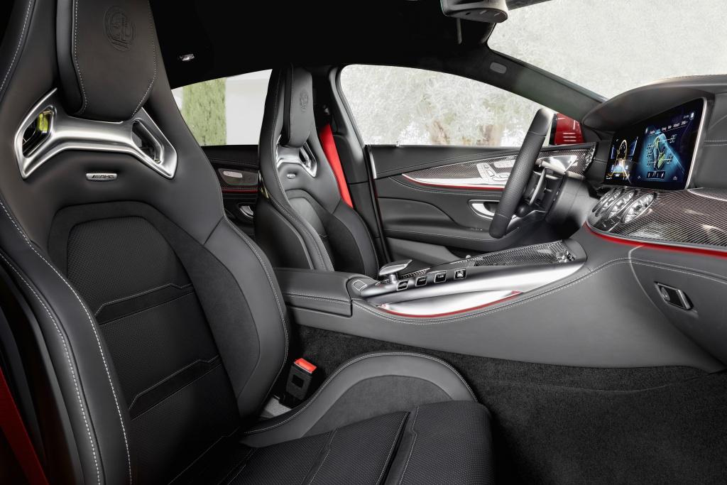 Mercedes-AMG GT 63 S E Performance - wnętrze, fotele