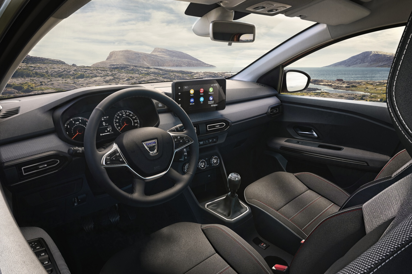 Dacia Jogger - deska rozdzielcza, wnętrze