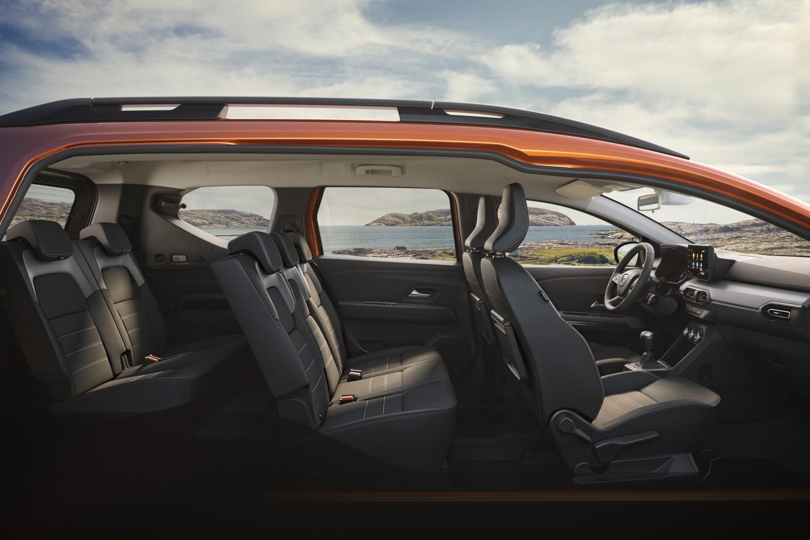Dacia Jogger - wnętrze, siedzenia, fotele