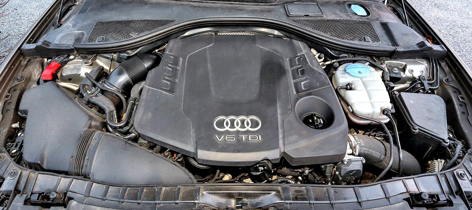 Audi A6 (C7) Allroad 3.0 TDI Audi silnik