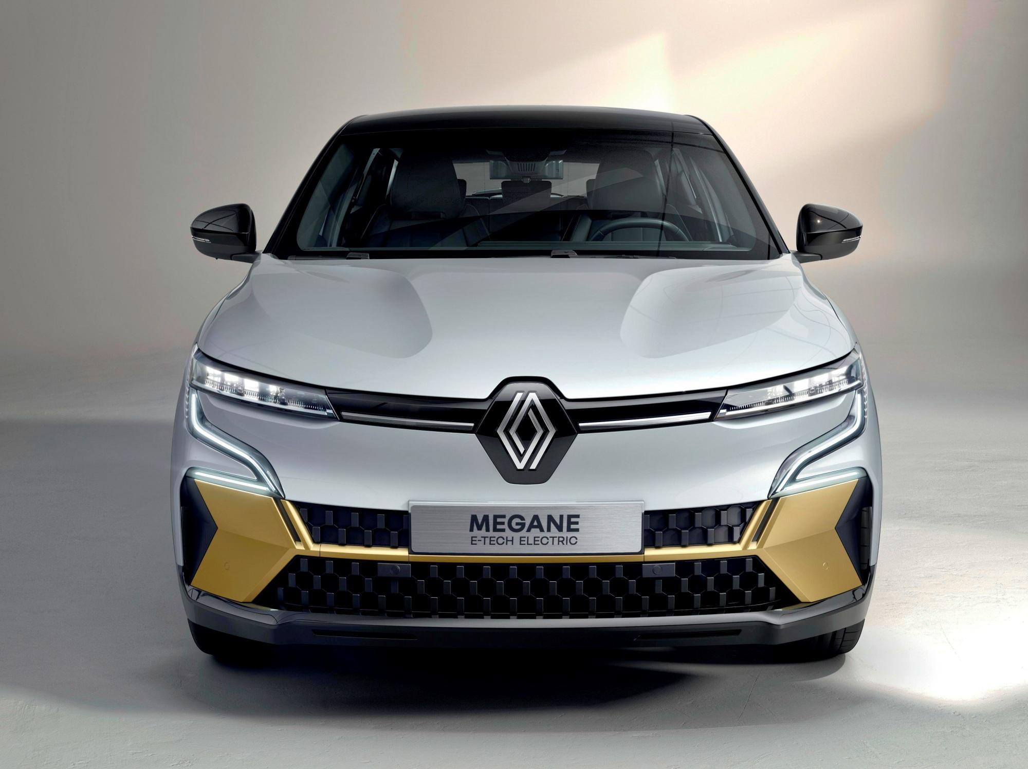 Renault Mgane E-TECH Electric przód