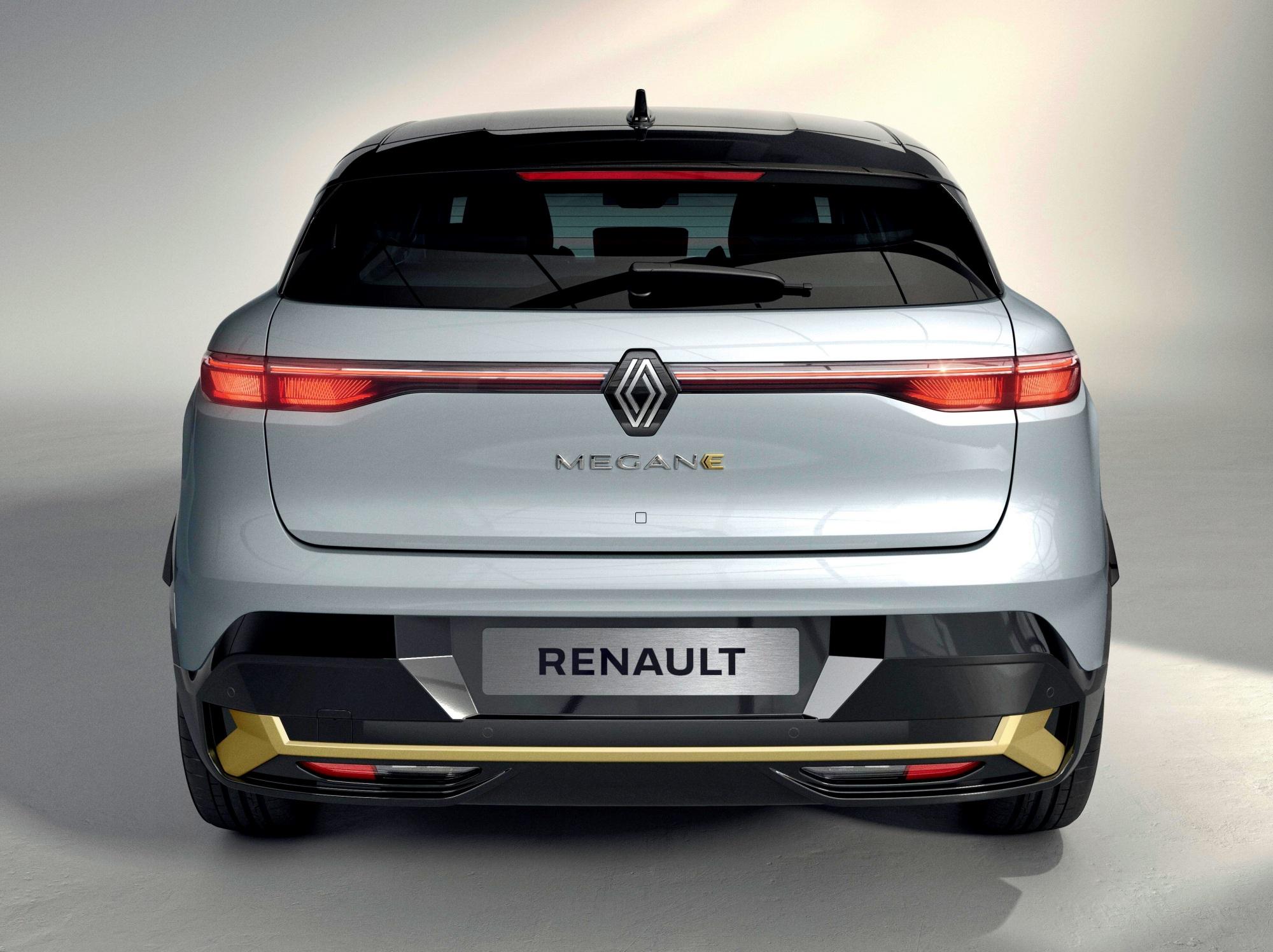 Renault Mgane E-TECH Electric tył