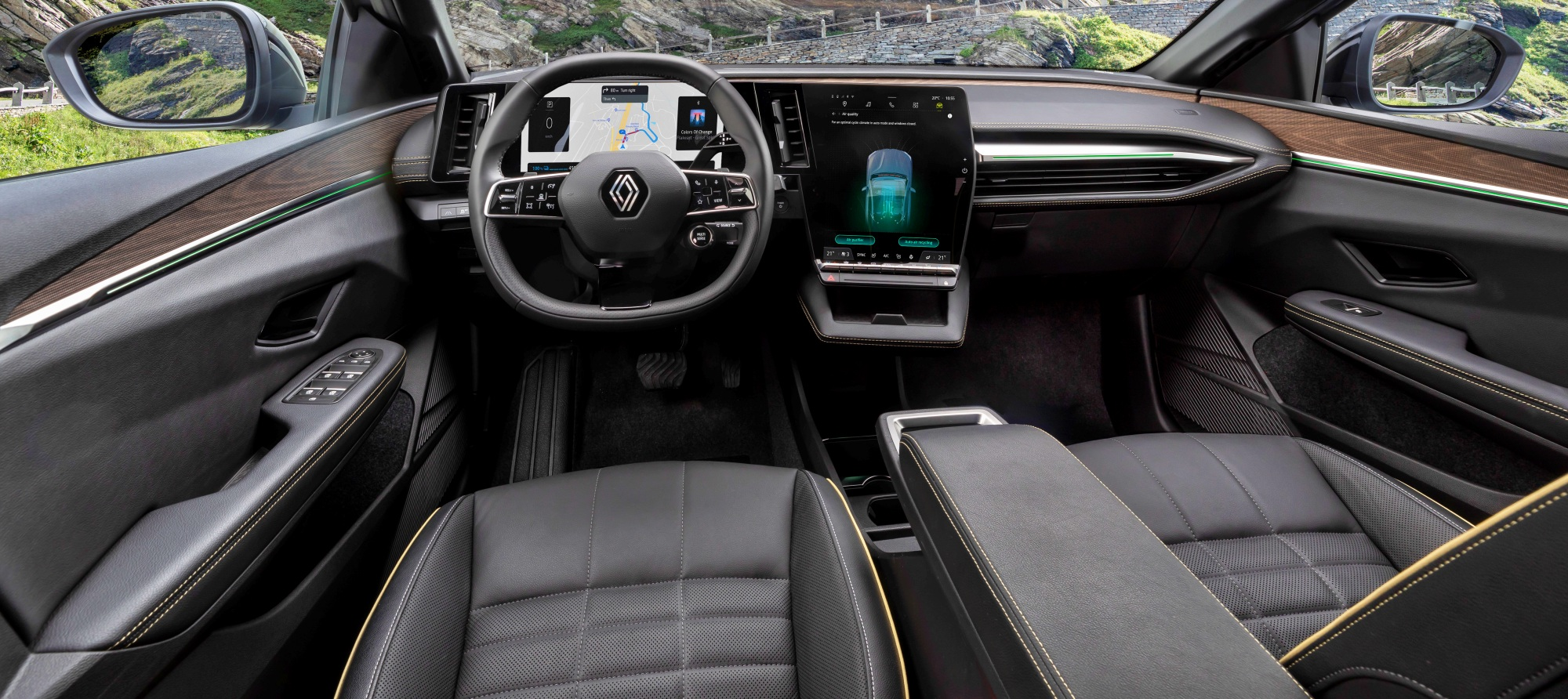 Renault Mgane E-TECH Electric deska