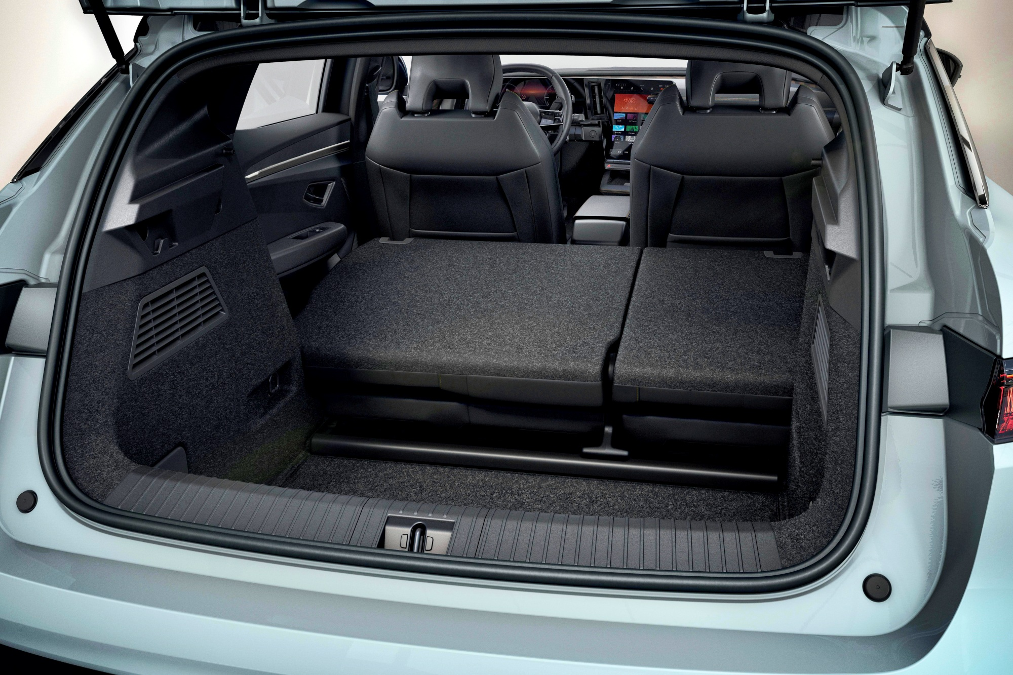Renault Mgane E-TECH Electric bagażnik