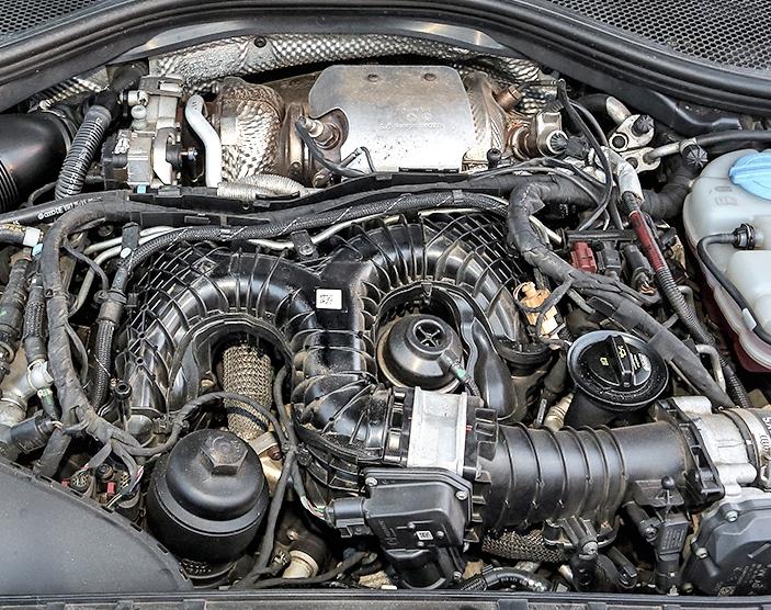 Audi A6 (C7) Allroad 3.0 TDI Audi silnik bez osłony