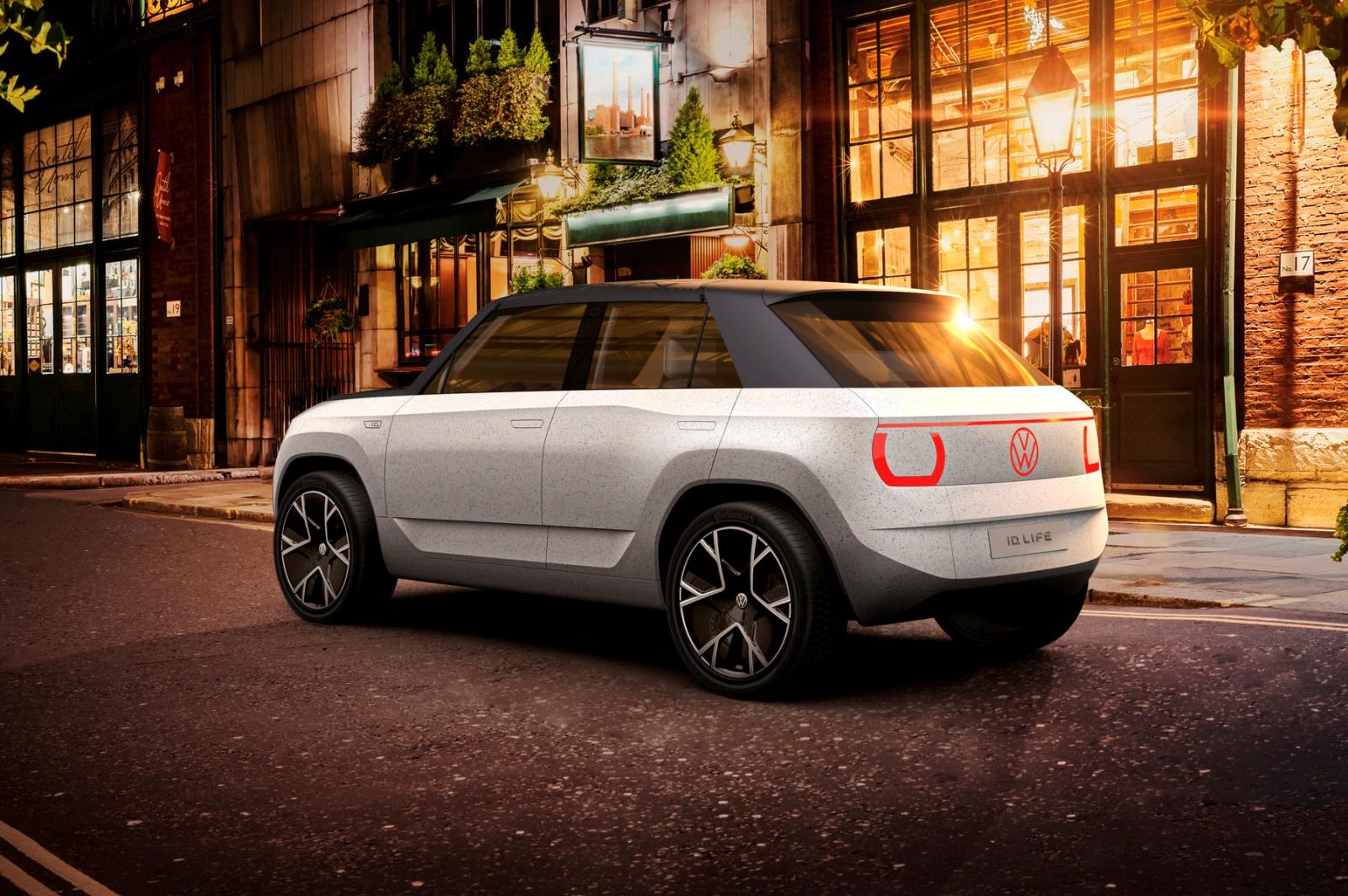 VW ID. Life - tył