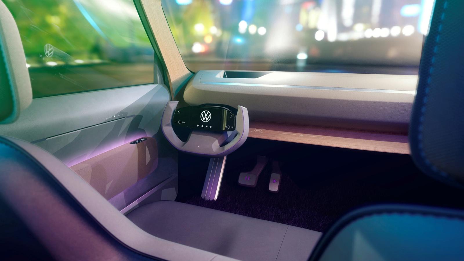 VW ID. Life - deska rozdzielcza, wnętrze