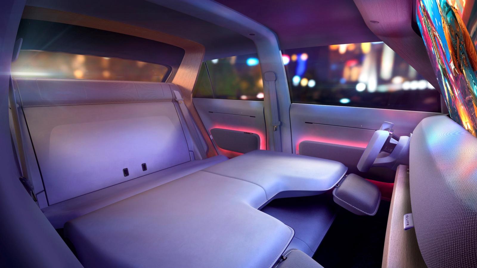 VW ID. Life - wnętrze, siedzenia