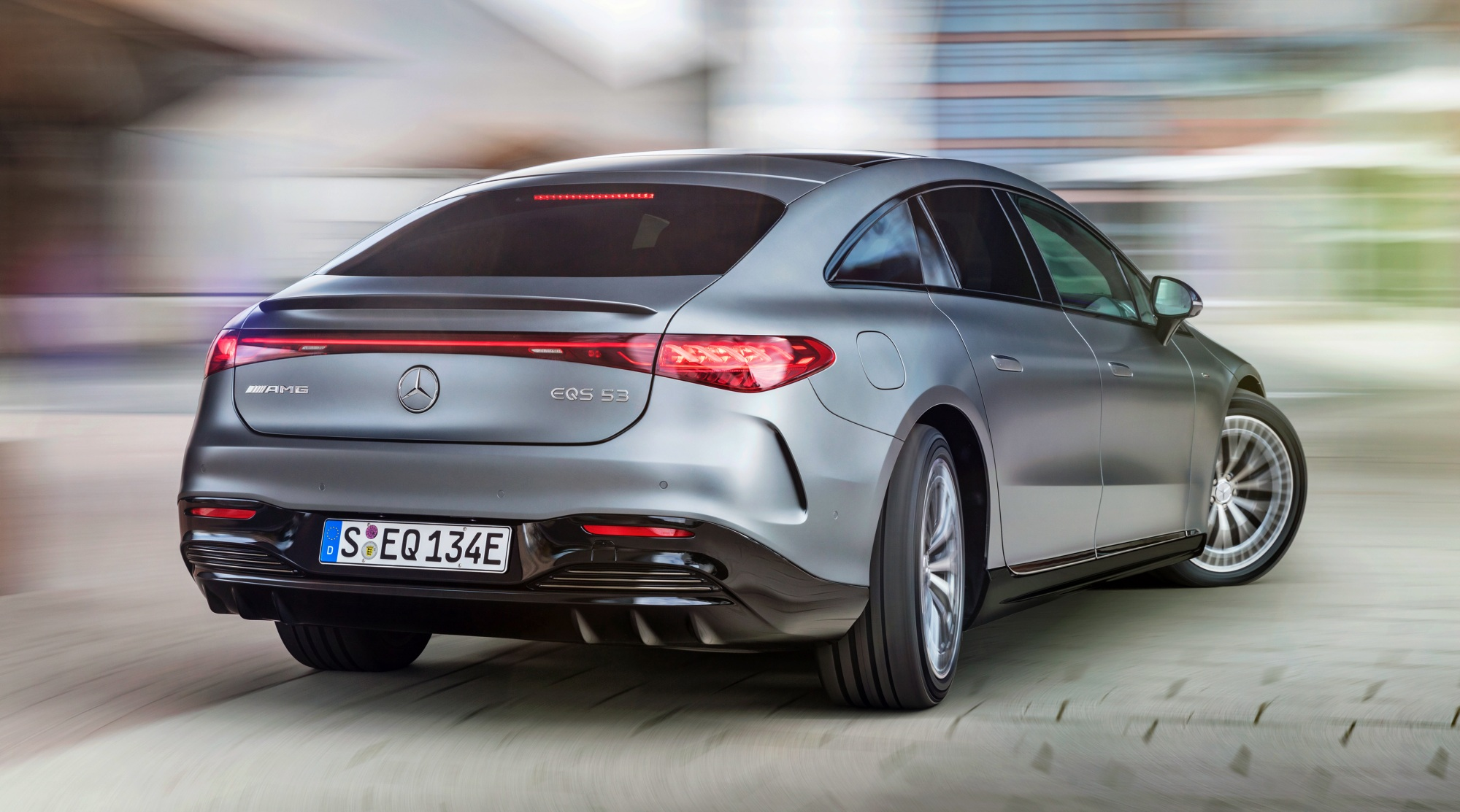 Mercedes-AMG EQS 53 4MATIC+ tył