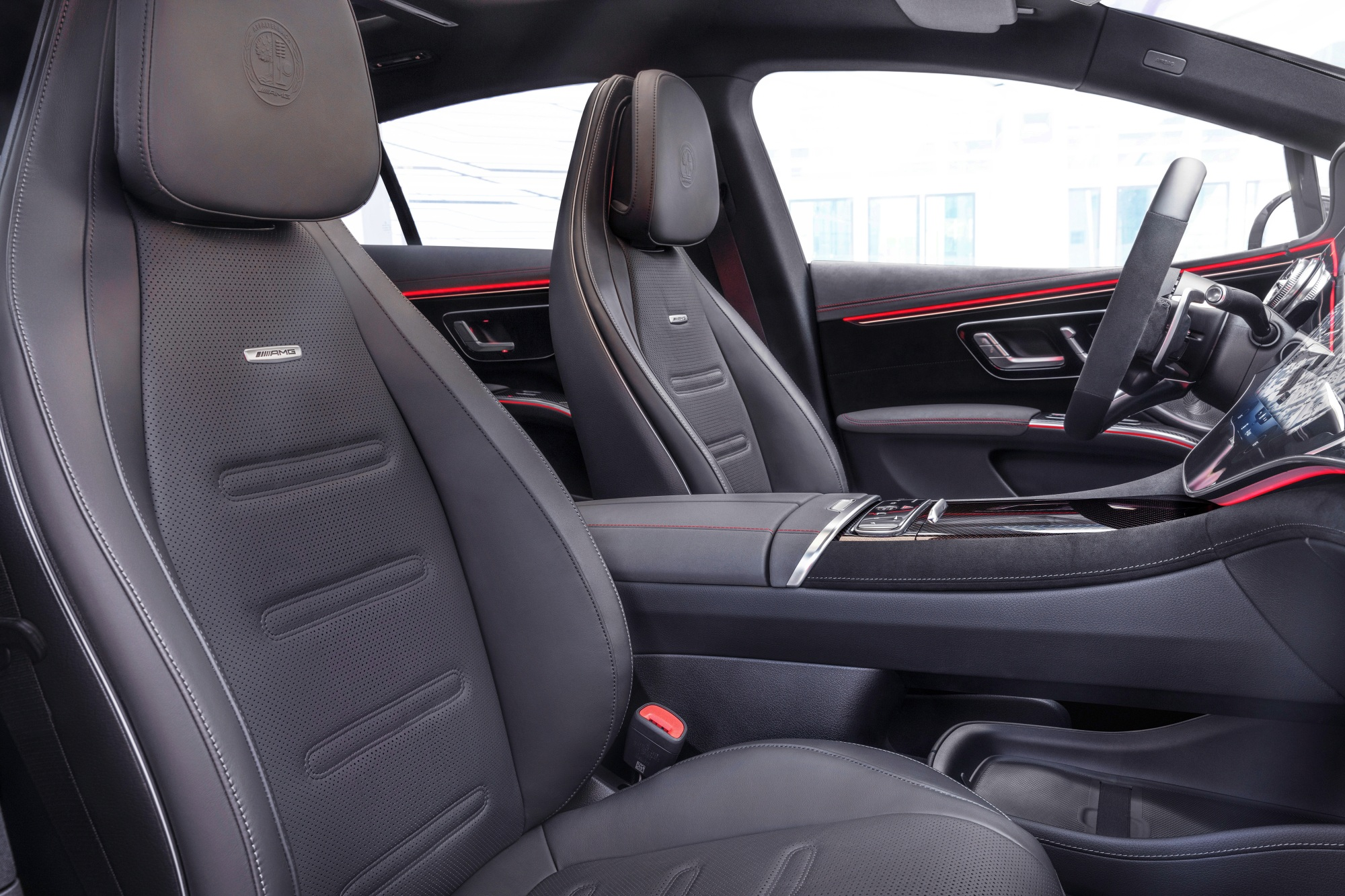 Mercedes-AMG EQS 53 4MATIC+ fotele