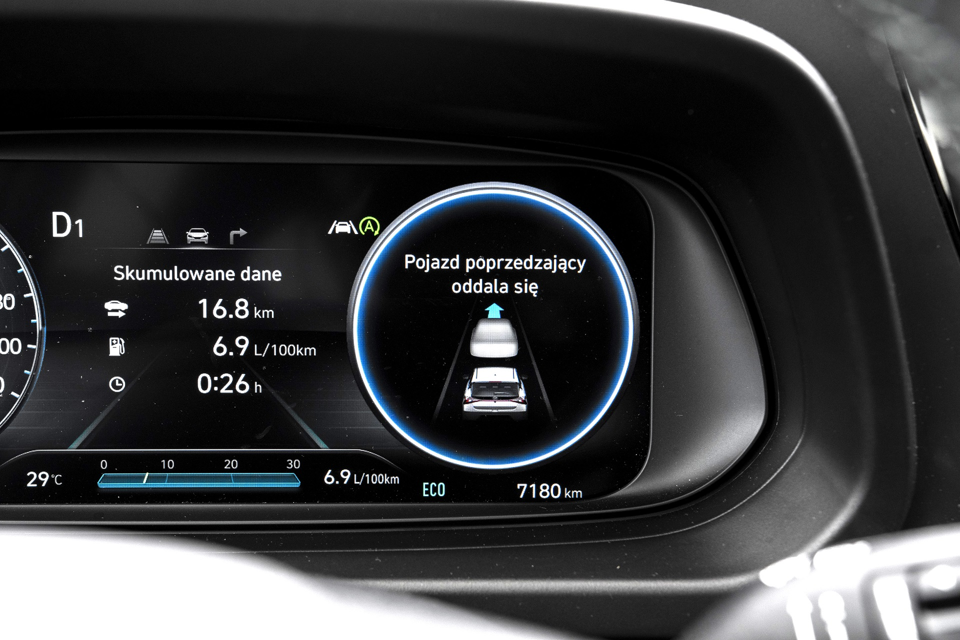 2021 Hyundai Bayon - zegary