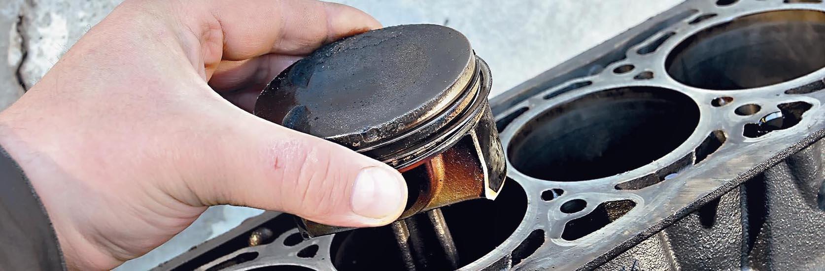 Pierścienie tłokowe VW 1.8 TSI