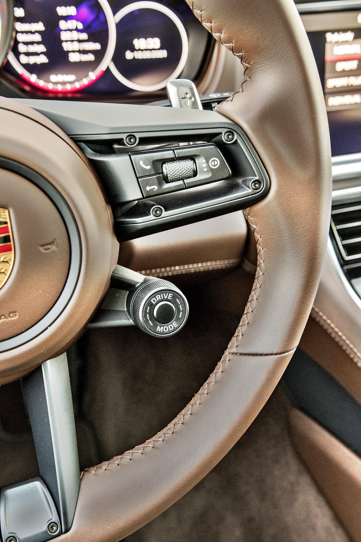 Porsche Panamera Turbo S - przełącznik