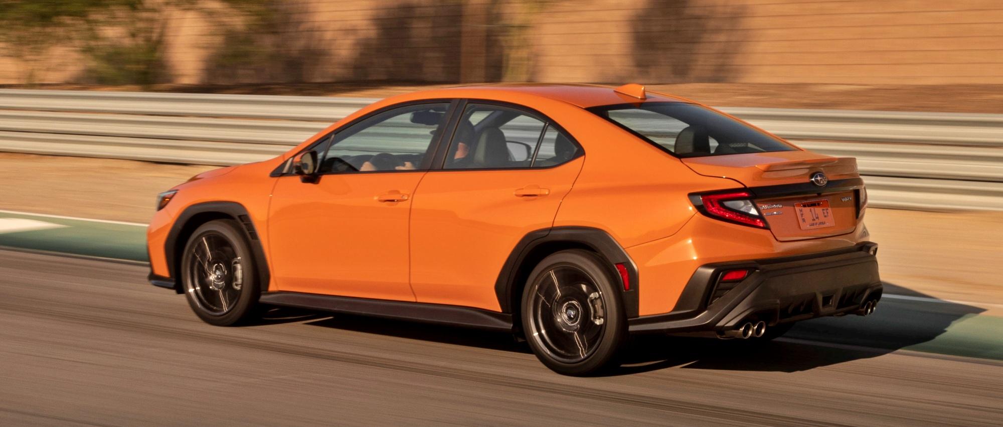 Subaru WRX tył