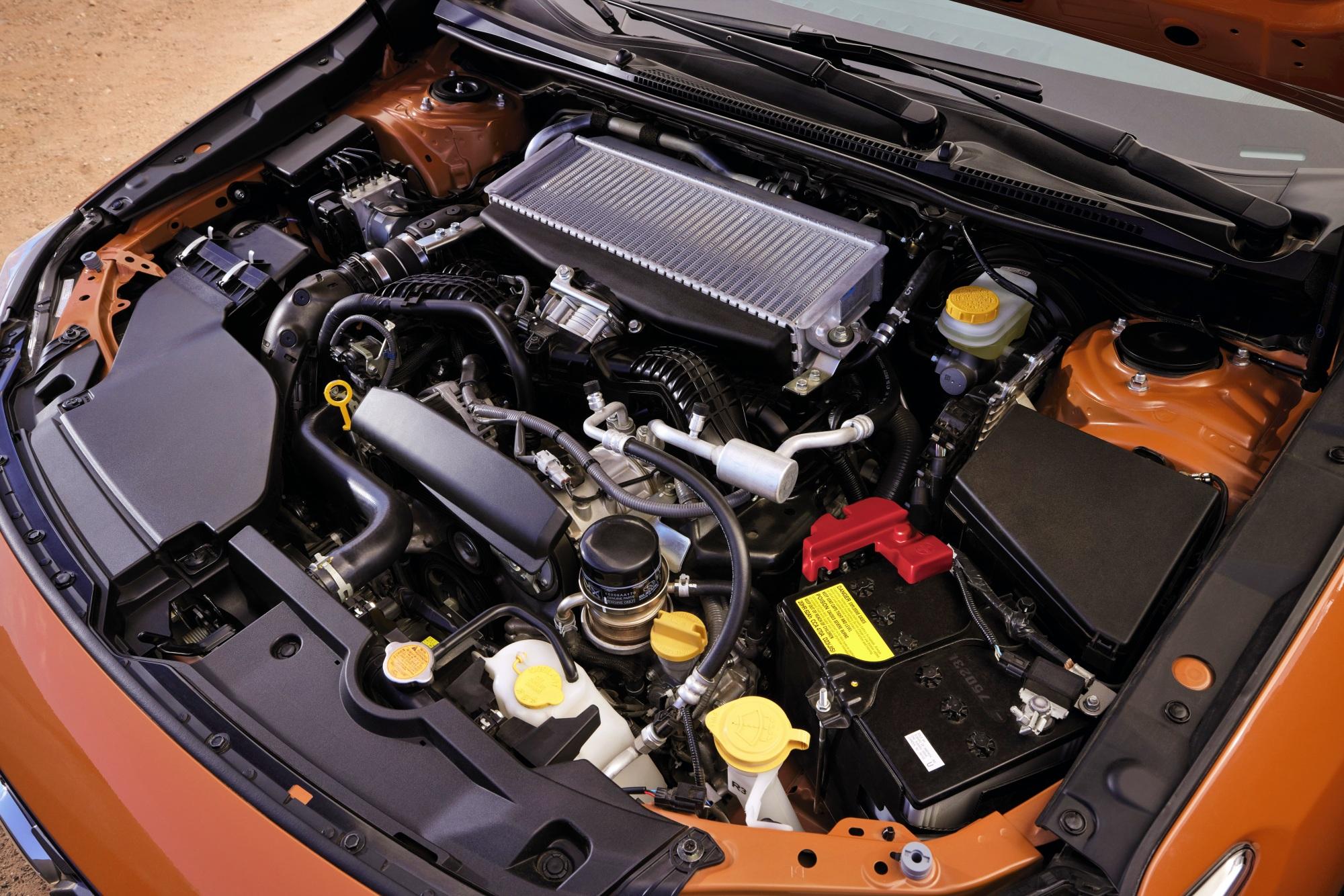 Subaru WRX silnik