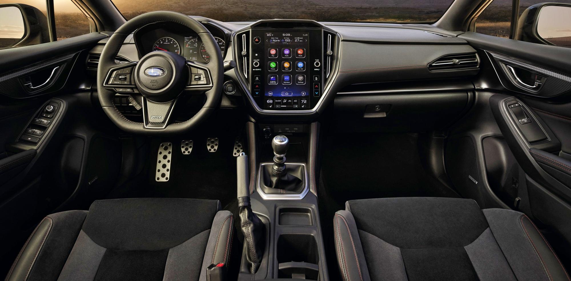Subaru WRX deska