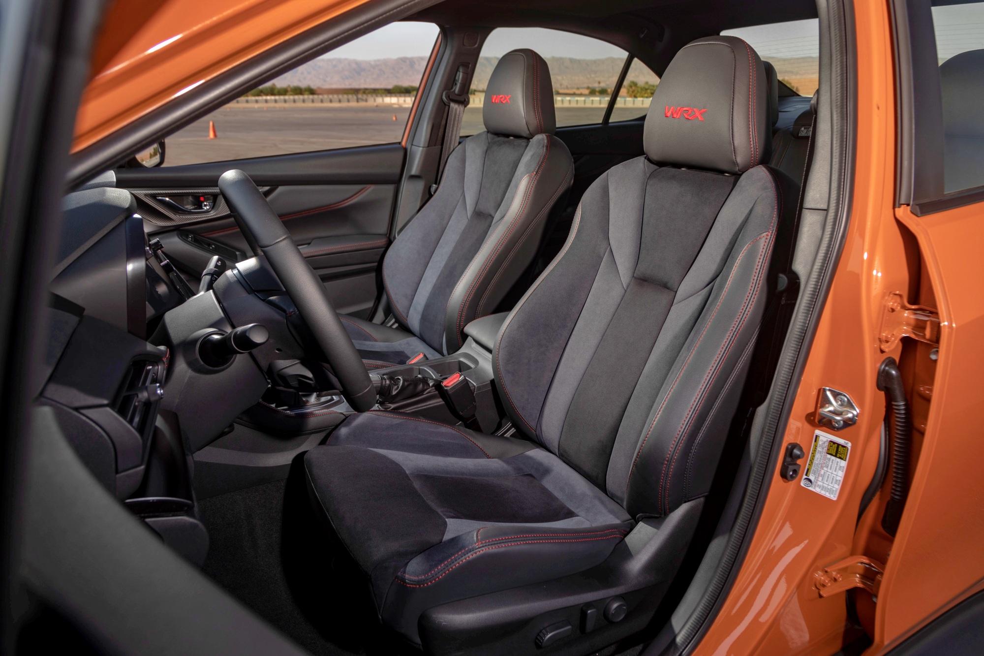 Subaru WRX fotele