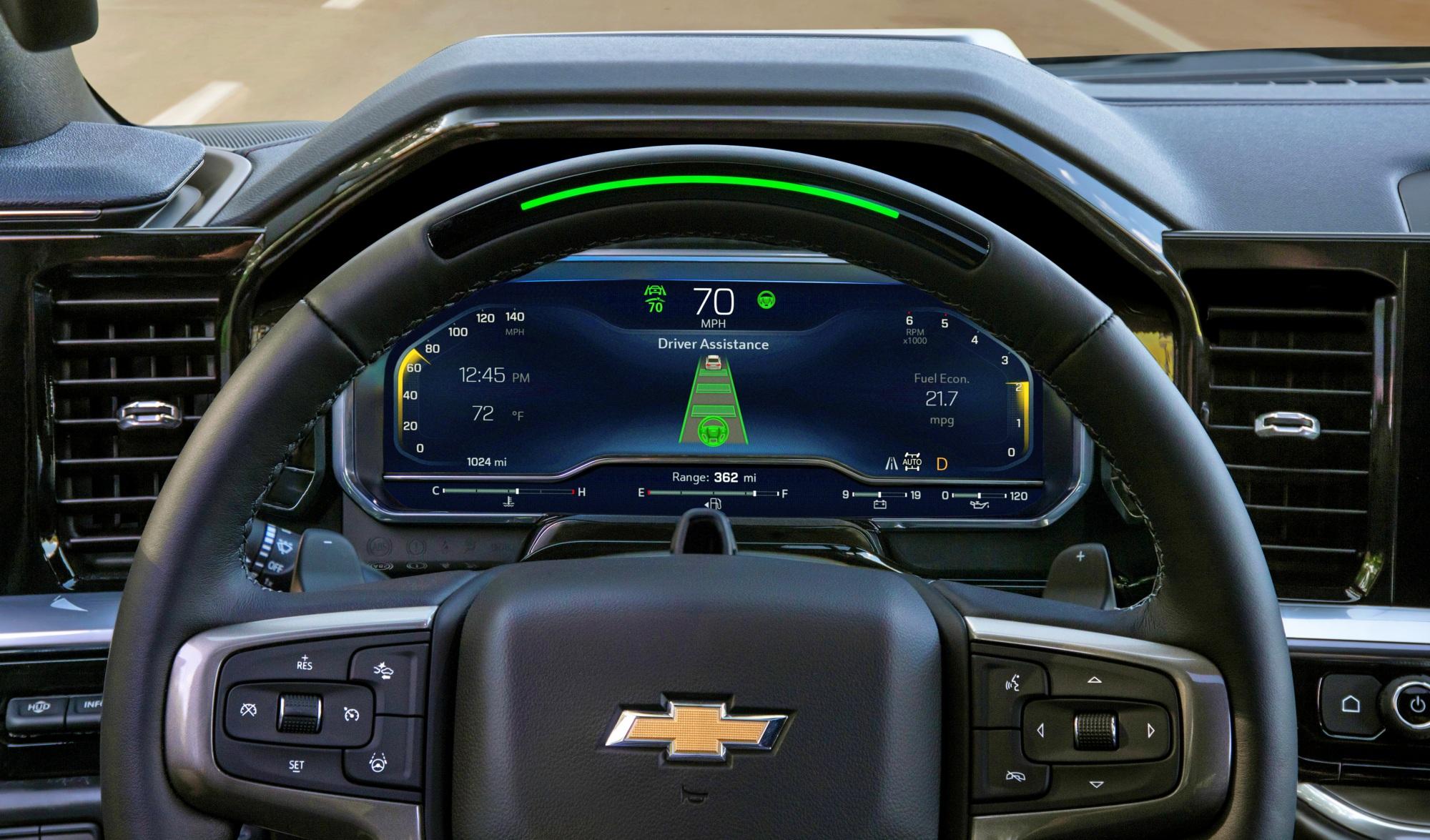 Chevrolet Silverado ZR2 wnętrze