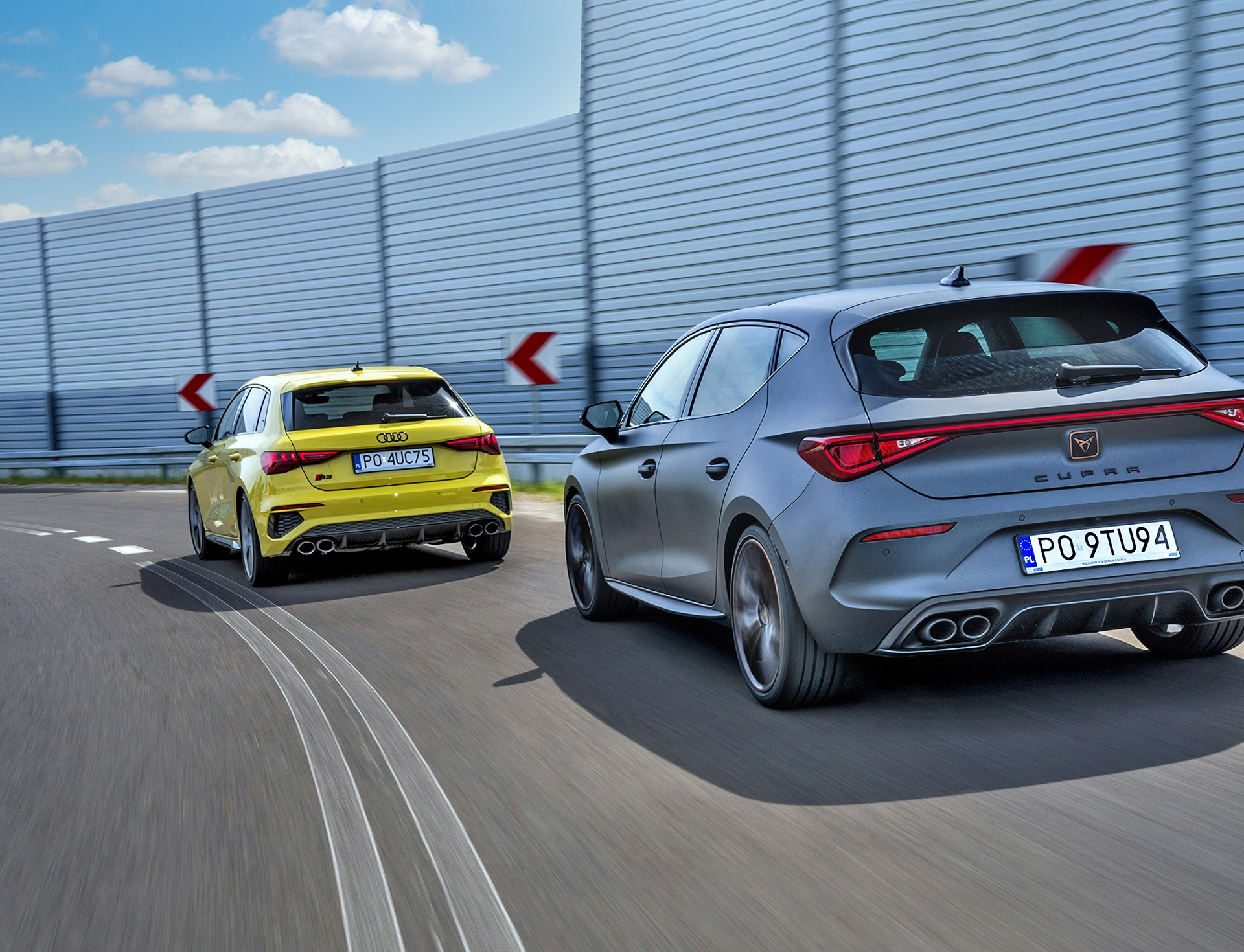 2021 Audi S3, 2021 Cupra Leon - tyły