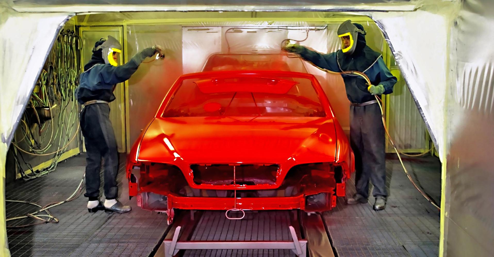 malowanie auta wlakierni